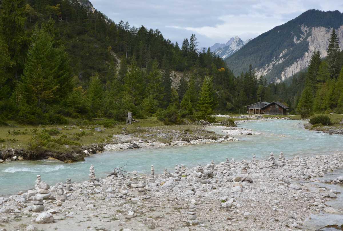 FAHRRAD ISARURSPRUNG - Radweg zu den Isarquellen im Karwendel