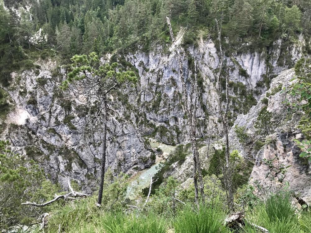 Bei der Gleirschhöhe im Karwendel