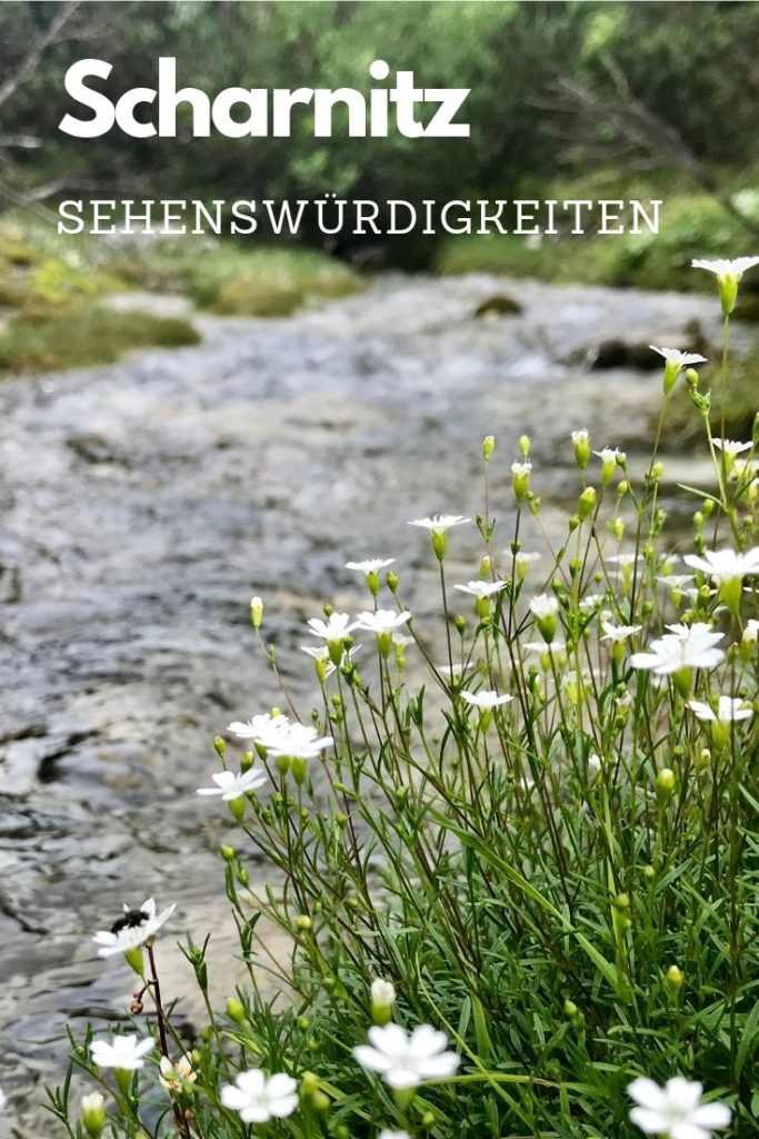 Die Scharnitz Sehenswürdigkeiten in der schönen Natur des Karwendel
