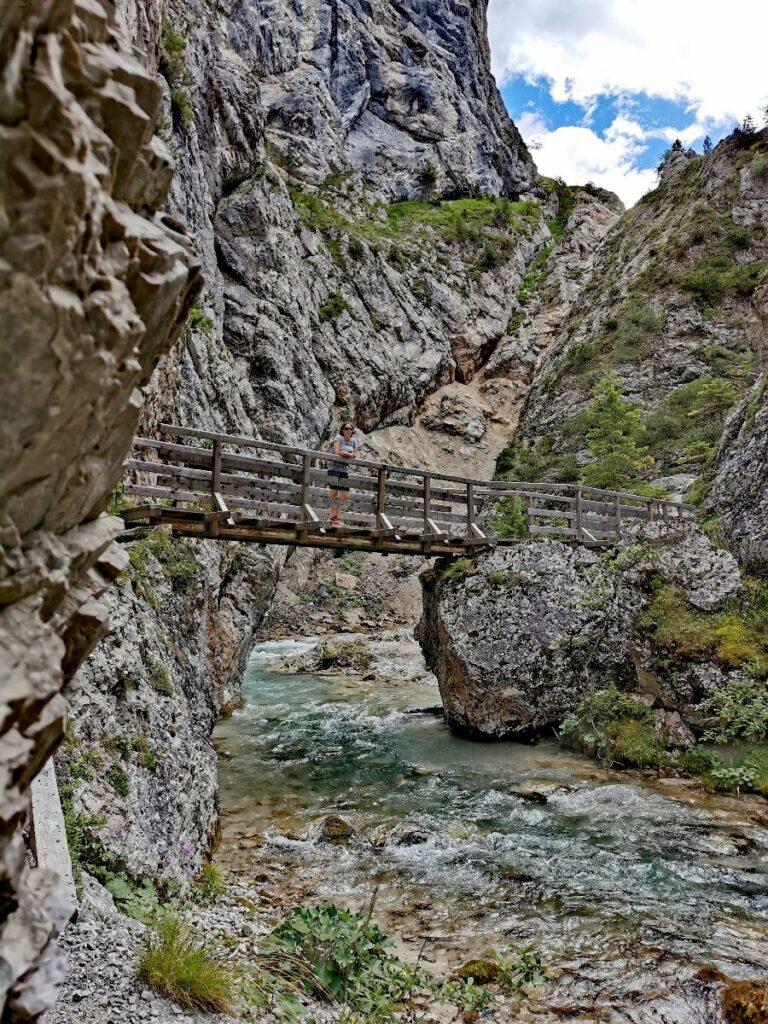 Die Gleirschklamm - ein Juwel im Karwendel, liegt nahe beim Isarursprung