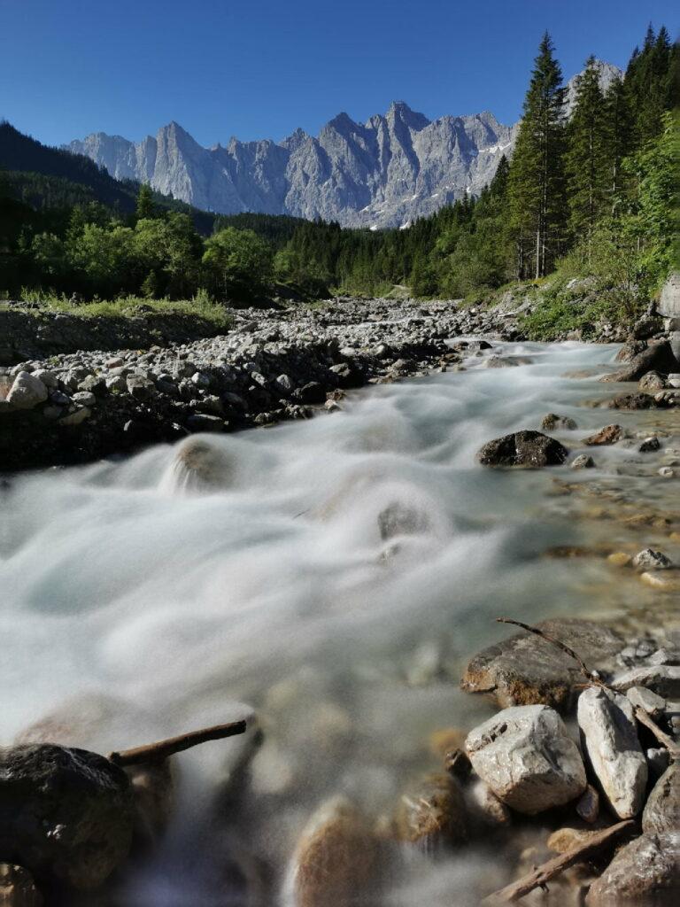Von Hinteriss ins Karwendel - für mich immer wieder ein Stück wunderbar wilde Natur