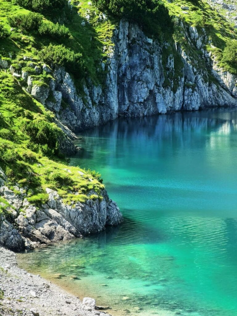 Magische Seen in den Alpen - besuch mal den Seebensee und die oberhalb davon liegenden Bergseen!