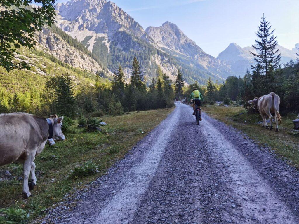 Von Scharnitz in die gigantischen Karwendeltäler